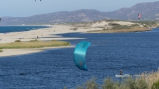 SARDINIEN KITE CAMP- VALLEDORIA
