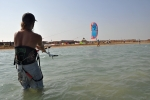 Easy start im Hamata Kite Village