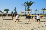 Volleyball am Strand...