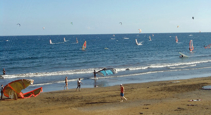 Windsurfen in Spanien