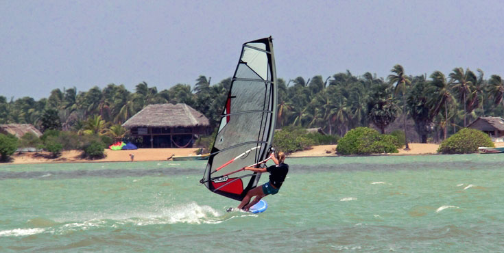 Windsurfen Sri Lanka